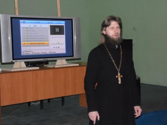 Помощником начальника УФСИН России по Магаданской области по работе с верующими провел профилактическую беседу с осужденными